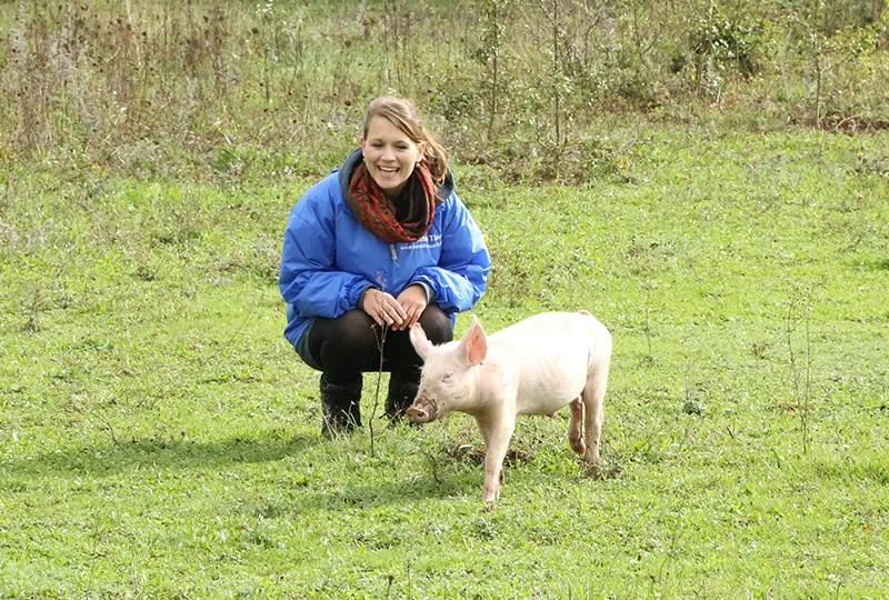 Denise bei Stefan zu Besuch