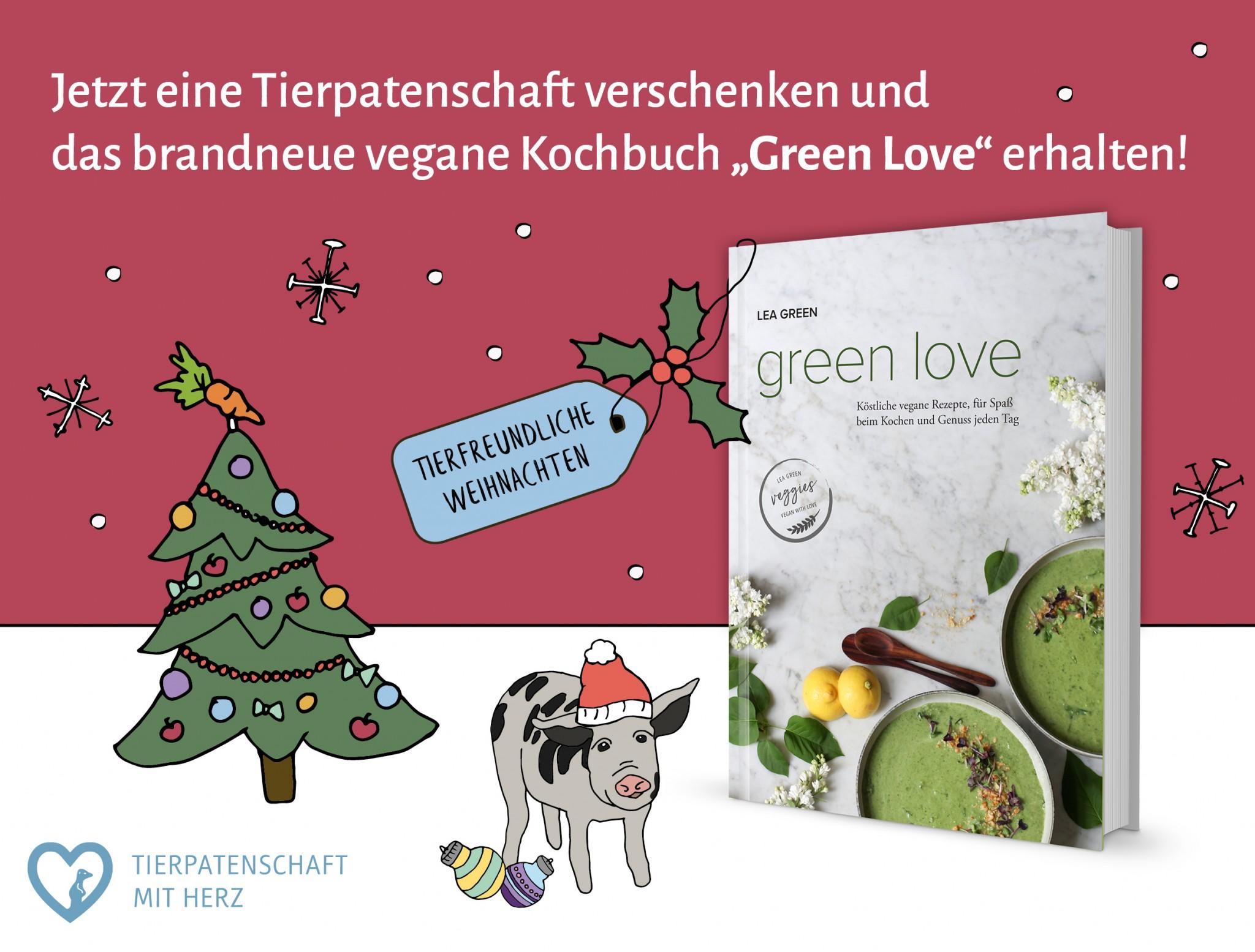 Zu Weihnachten Tierliebe verschenken! - Tierpatenschaft mit Herz