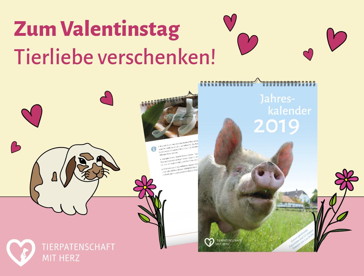 Ein Besonderes Geschenk Zum Valentinstag Tierpatenschaft Mit Herz